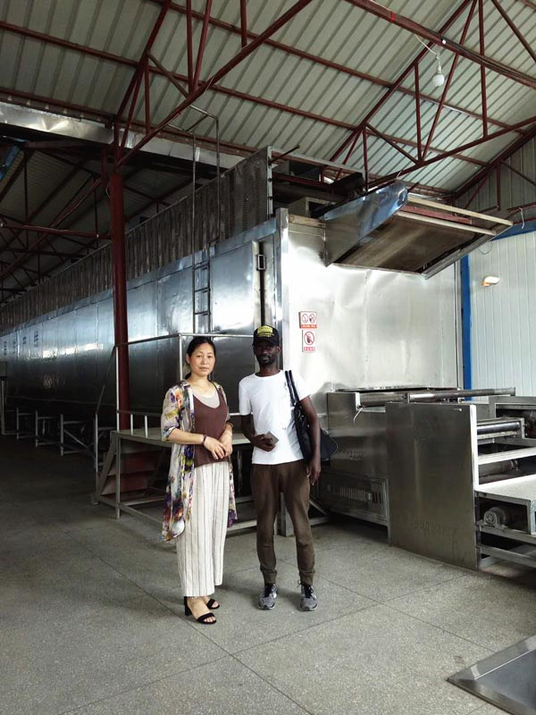 African customers fly directly to Nanyang to visit Goodway factory