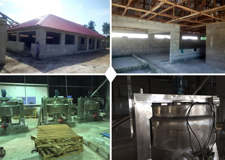 Ghana 500Kg Per Hour Output Garri Processing Machine